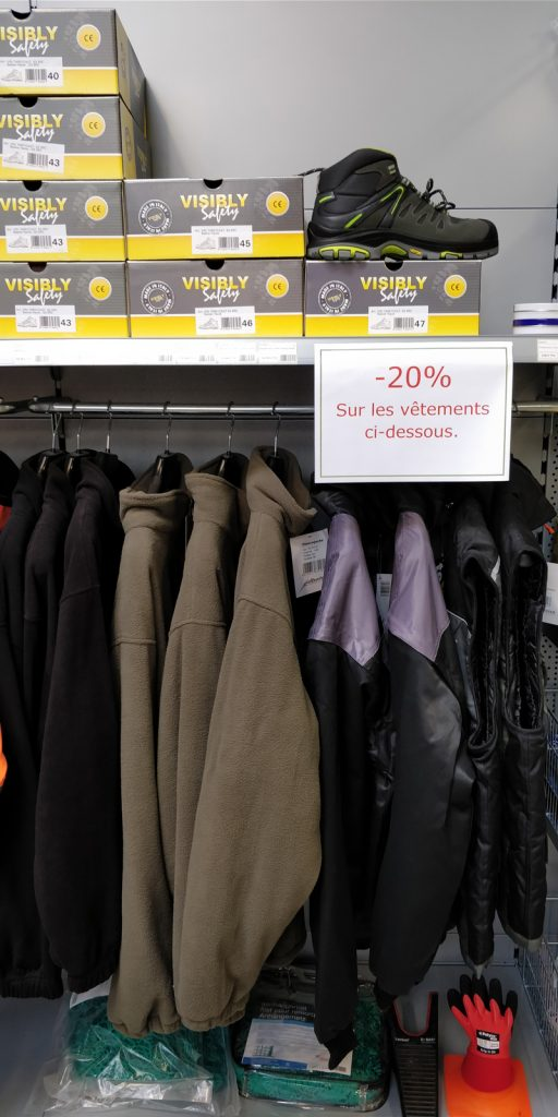 Vêtements Visibly Safety